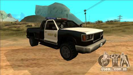 New Yosemite Police v2 para GTA San Andreas esquerda vista