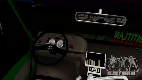 Mercedes-Benz Boxer para GTA San Andreas vista direita