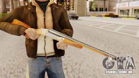 Versão completa duplo espingardas para GTA San Andreas terceira tela