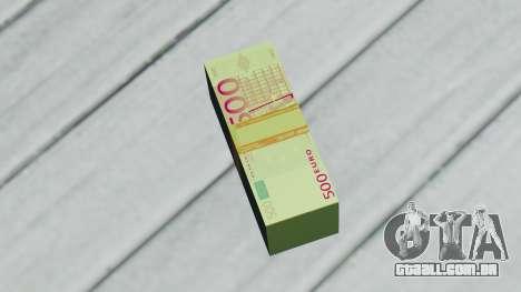 500 Euros para GTA San Andreas segunda tela