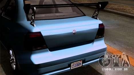 GTA 5 Declasse Asea IVF para GTA San Andreas vista interior