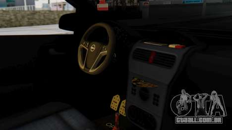 Opel Corsa Air para GTA San Andreas vista direita