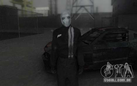 Frankenstein Skin para GTA San Andreas segunda tela