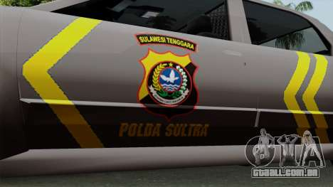 Indonesian Police Type 1 para GTA San Andreas vista direita