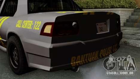 Indonesian Police Type 1 para GTA San Andreas vista inferior