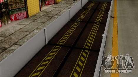 Trailer Kogel para GTA San Andreas vista interior