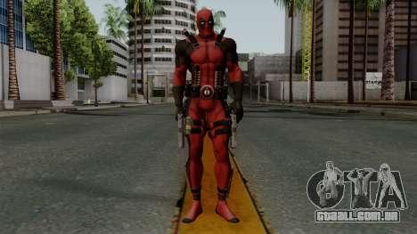 Deadpool para GTA San Andreas segunda tela
