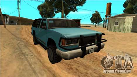 New Yosemite para GTA San Andreas vista traseira