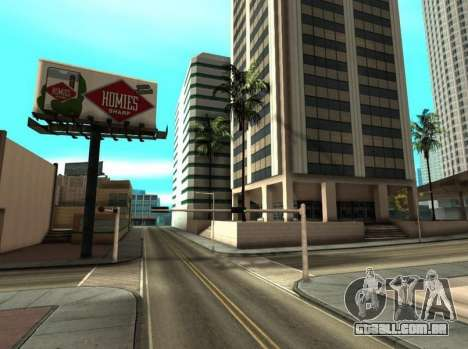 Metallic ENB Series para GTA San Andreas por diante tela