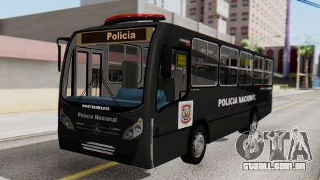 Mercedes-Benz Neobus Paraguay National Police para GTA San Andreas