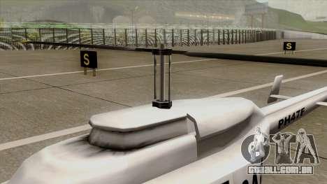 Rain Dance Maverick para GTA San Andreas vista direita