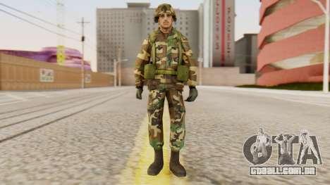 Soldados do exército dos EUA para GTA San Andreas segunda tela