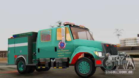 SACFR International Type 3 Rescue Engine para GTA San Andreas vista direita