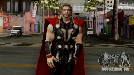 Thor from The Avengers 2 para GTA San Andreas