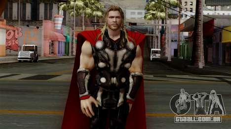Thor from The Avengers 2 para GTA San Andreas