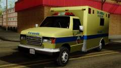 SAFD SAX Rescue Ambulance para GTA San Andreas
