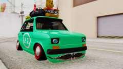 Fiat 126 bis B. O. Construção