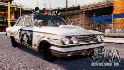Ford Fairlane 1964 Police para GTA 4