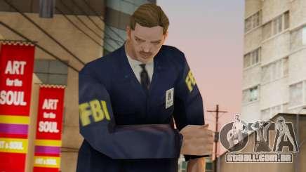 FBI Skin para GTA San Andreas