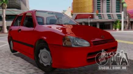 Toyota Starlet 5P 1.3L 1998 para GTA San Andreas