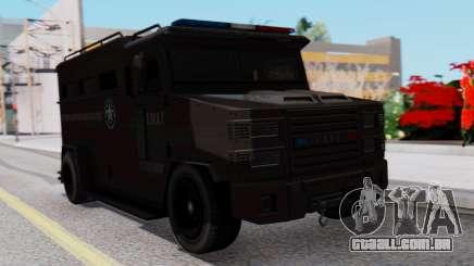 GTA 5 Enforcer S.W.A.T. para GTA San Andreas