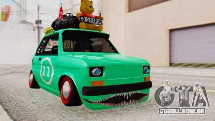Fiat 126 bis B. O. Construção para GTA San Andreas