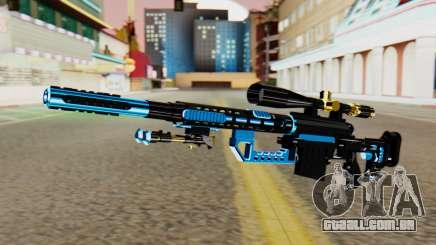 Fulmicotone Sniper Rifle para GTA San Andreas