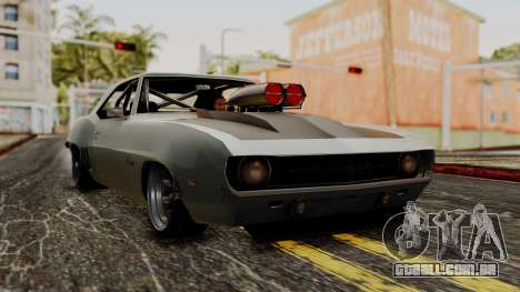 Chevrolet Camaro Drag Street para GTA San Andreas