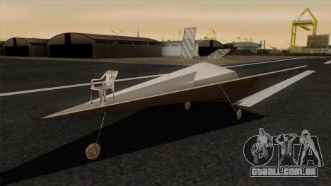 Avião de papel para GTA San Andreas