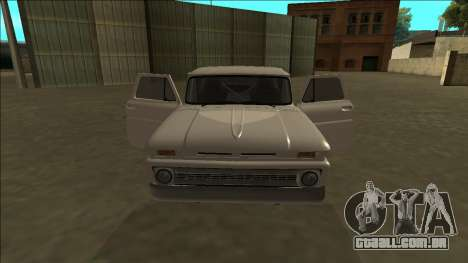 Chevrolet C10 Drift para vista lateral GTA San Andreas