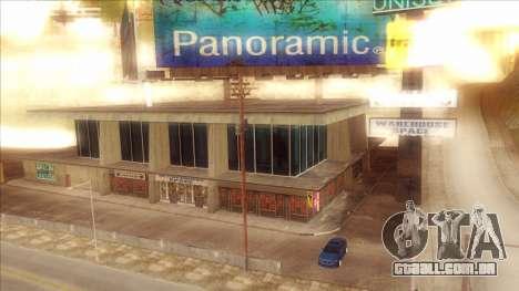 ENB Series Visão Clara v1.0 para GTA San Andreas por diante tela
