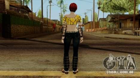 Dead Or Alive 5 Last Round Mila para GTA San Andreas terceira tela