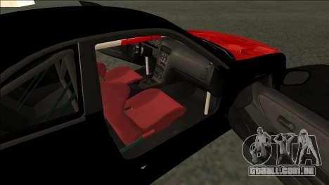 Nissan Skyline R33 Monster Energy para GTA San Andreas traseira esquerda vista