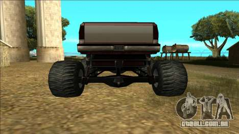 New Yosemite v2 Monster para GTA San Andreas vista superior