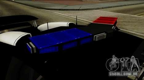 Bugatti Veyron 16.4 2013 Dubai Police para GTA San Andreas vista traseira