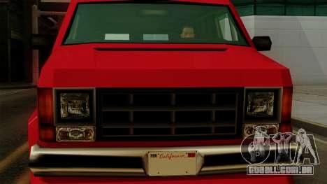 Burrito from Vice City Stories IVF para GTA San Andreas vista direita