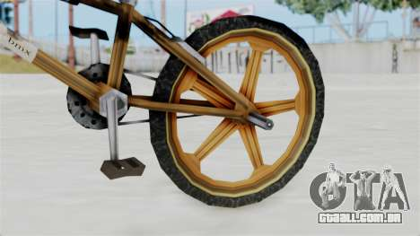 Retro BMX from Bully para GTA San Andreas vista direita