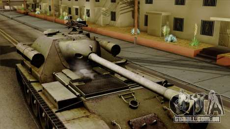 SU-101 122mm from World of Tanks para GTA San Andreas vista direita