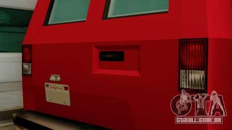 Burrito from Vice City Stories IVF para GTA San Andreas vista interior