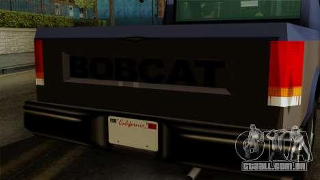 Bobcat from Vice City Stories IVF para GTA San Andreas vista direita