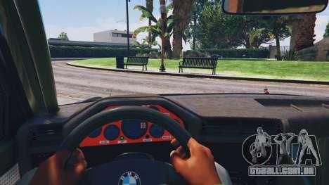 1991 BMW E30 Drift Edition v1.1 para GTA 5
