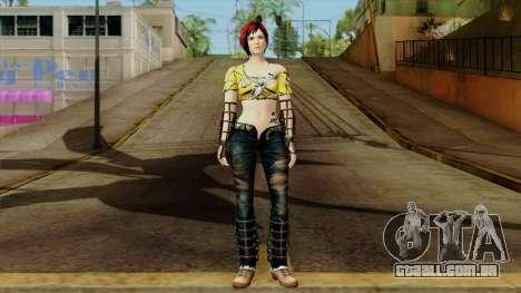 Dead Or Alive 5 Last Round Mila para GTA San Andreas segunda tela