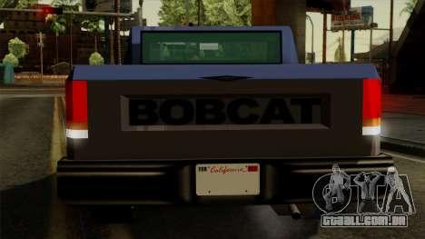 Bobcat from Vice City Stories IVF para GTA San Andreas interior