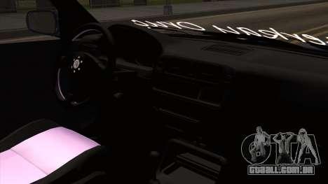 Honda Civic Sedan B. O. Construção para GTA San Andreas vista direita