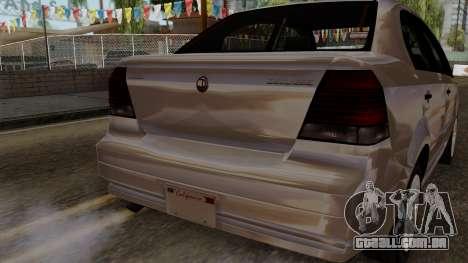 GTA 5 Declasse Asea para GTA San Andreas vista direita