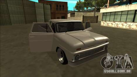 Chevrolet C10 Drift para GTA San Andreas vista superior