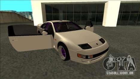 Nissan 300ZX Drift Monster Energy para vista lateral GTA San Andreas