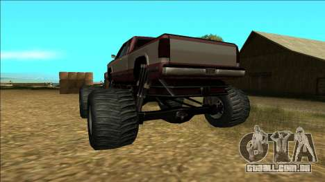 New Yosemite v2 Monster para GTA San Andreas vista inferior