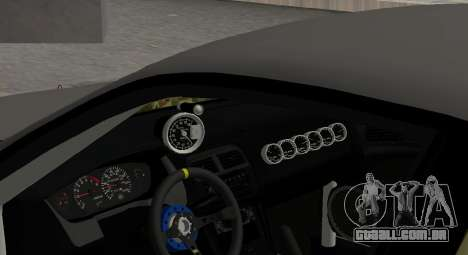 Nissan Silvia S14 JDM v0.1 para GTA San Andreas vista interior