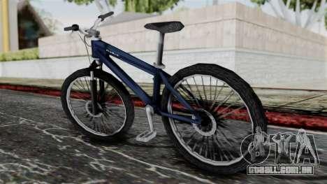 Mountain Bike from Bully para GTA San Andreas esquerda vista